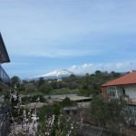 Il panorama sull'Etna